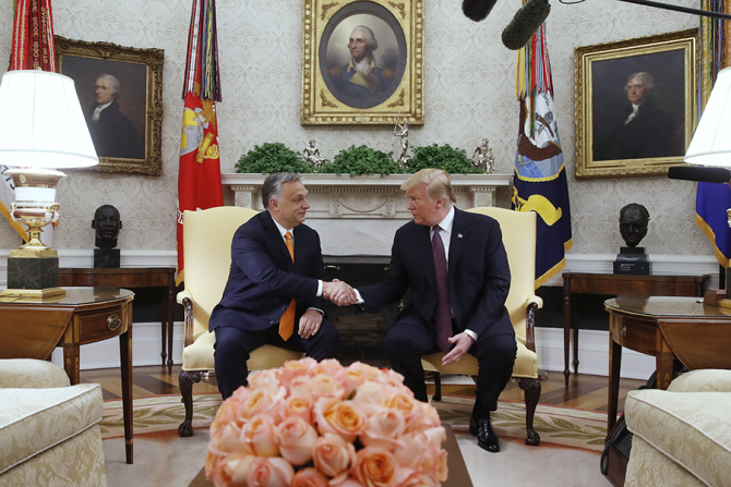 Viktor Orban și Donald Trump