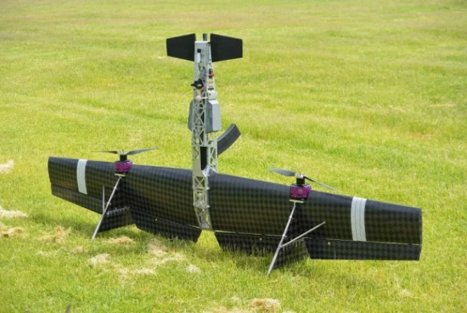 Drona cu pușca zburătoare