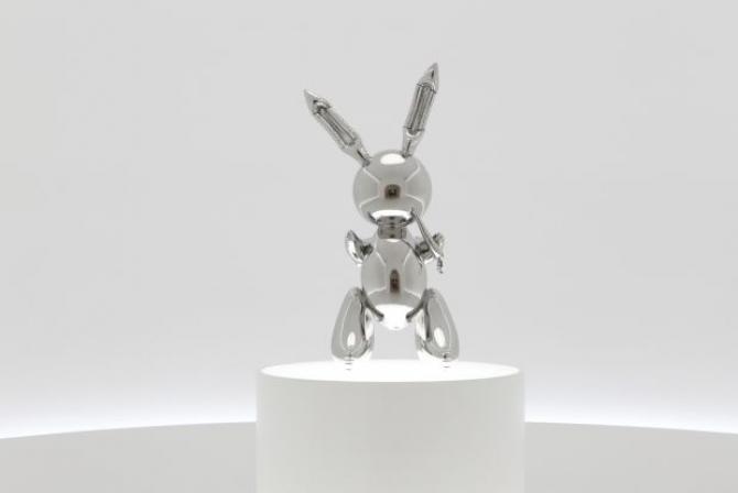 Sculptura lui Jeff Koons