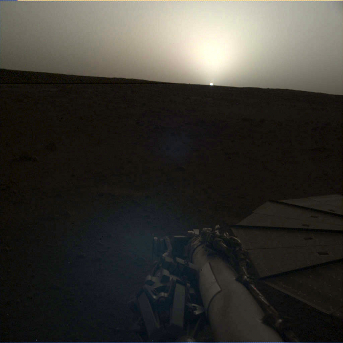 Răsărit de Soare pe Marte