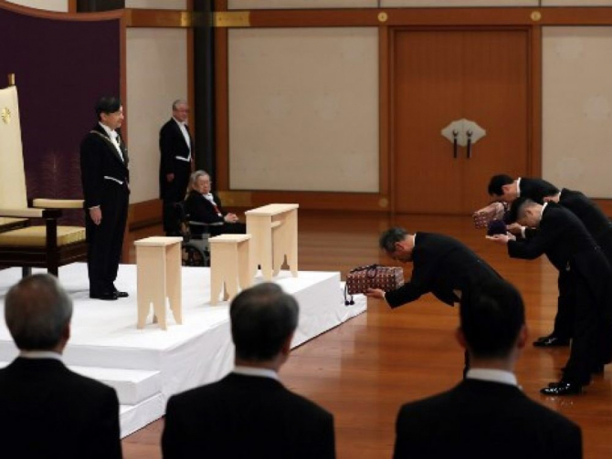 Naruhito, noul împărat al Japoniei