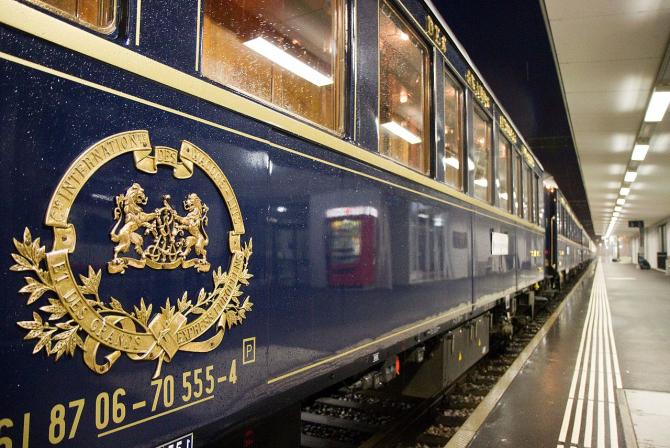 Vagoane de epocă din Orient Express