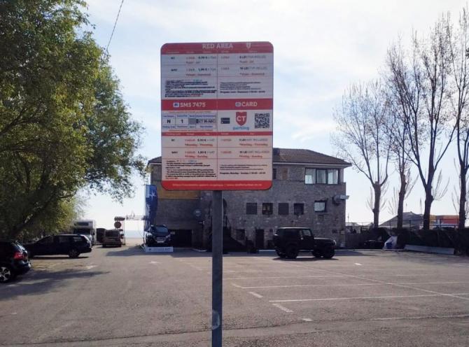 Parcare în Mamaia