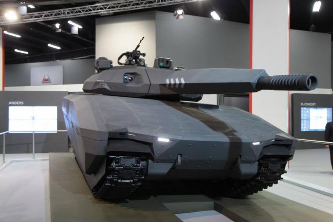 Prototipul tancului invizibil PL-01