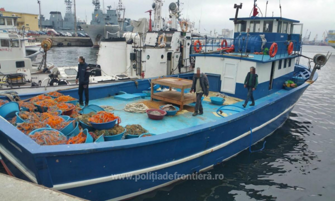 Pescadorul turcesc a oprit cu greu