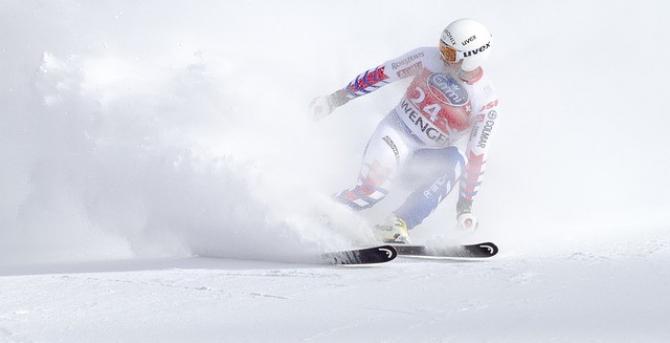 O pârtie de schi olimpică
