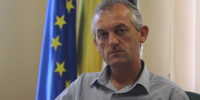 Simon Istvan, primarul localității Sânpaul
