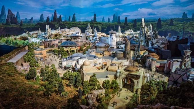 Parcul tematic Star Wars: Galaxy's Edge