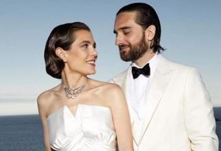 Nuntă regală. Fiica prinţesei Caroline de Monaco s-a măritat
