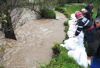 INHGA: Cod galben de inundații în 4 județe din România