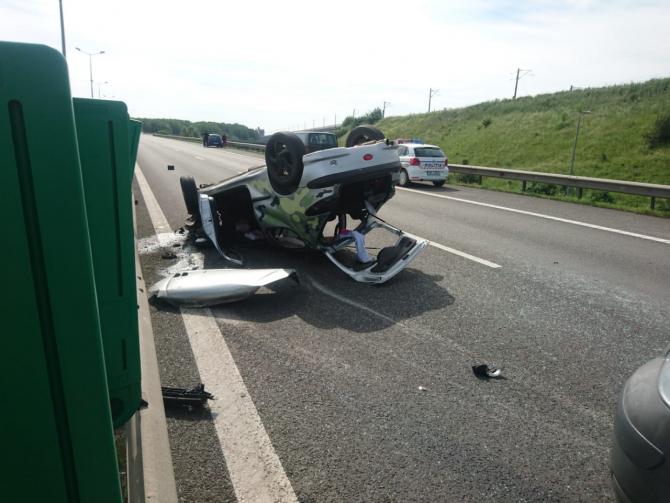 Accident mortal pe Autostrada Soarelui