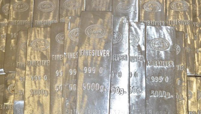 Argintul se ieftinește de la începutul anului