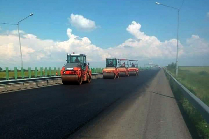 CNAIR va incepe reparatiile în perimetrul de beton al autostrăzii