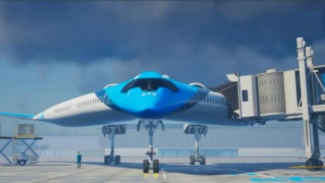 Avionul olandezilor