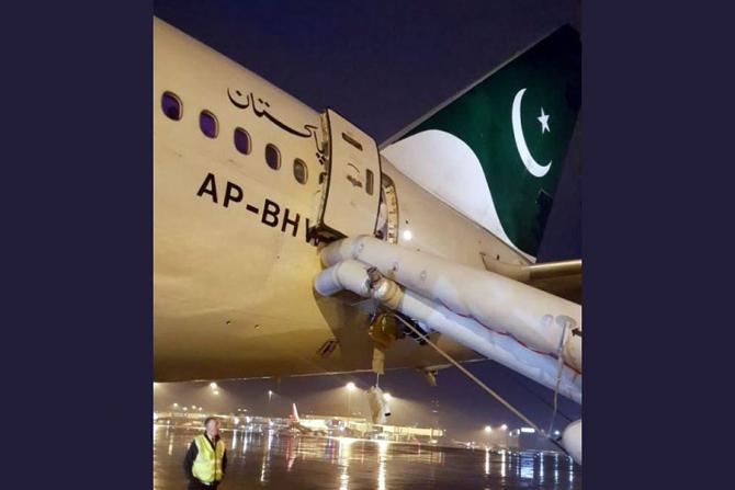 Avionul care a fost la un pas de tragedie