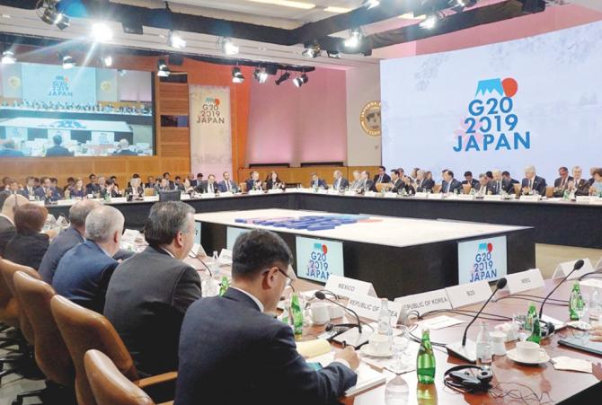 Sesiunea de la Fukuoka a G20
