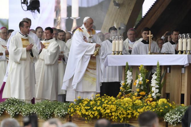 Papa Francisc / Foto: MTI