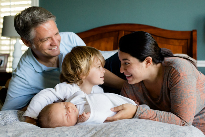 Familie cu copii