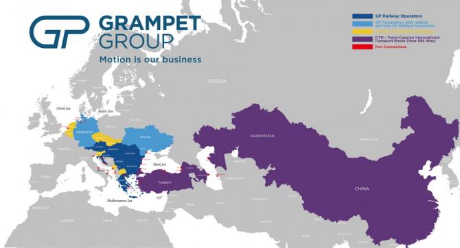 Harta Grupului Grampet