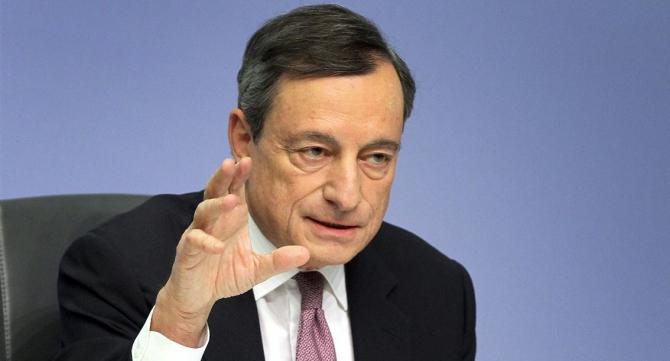 Preşedintele Băncii Centrale Europene, Mario Draghi