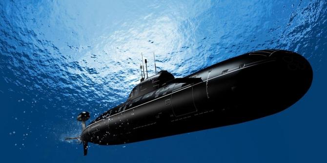 Un submarin care imită
