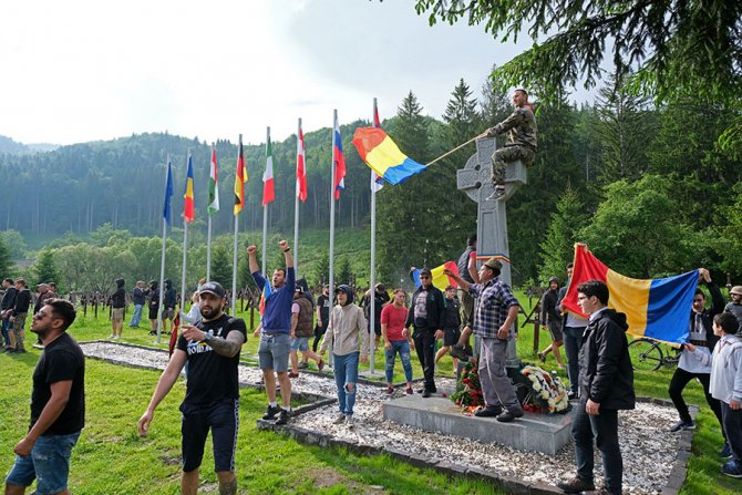Cimitirul Eroilor din Valea Uzului / Foto: MTI
