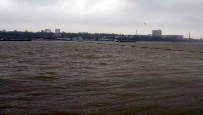Dunarea a atins cota de inundații la Giurgiu
