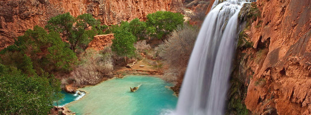 Cascada Havasu, Grand Canyon, Arizona