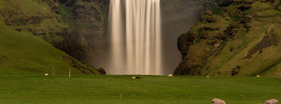 Cascada Skógafoss, Islanda