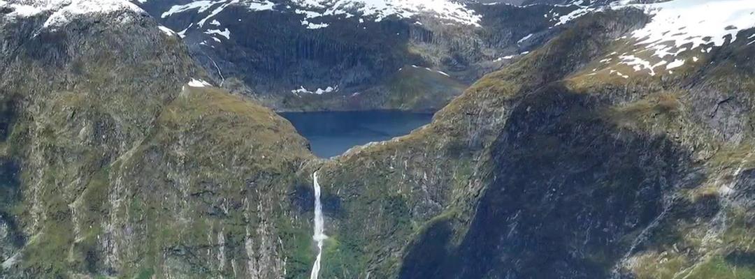 Cascada Sutherland, Noua Zeelandă
