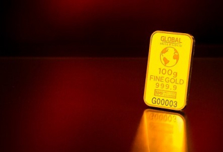 Metalul galben a cedat presiunilor