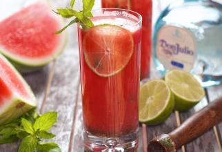 Cocktail cu pepene verde