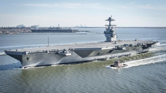 Portavionul USS Gerard Ford
