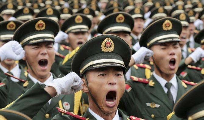 China, locul doi mondial la cheltuieli militare