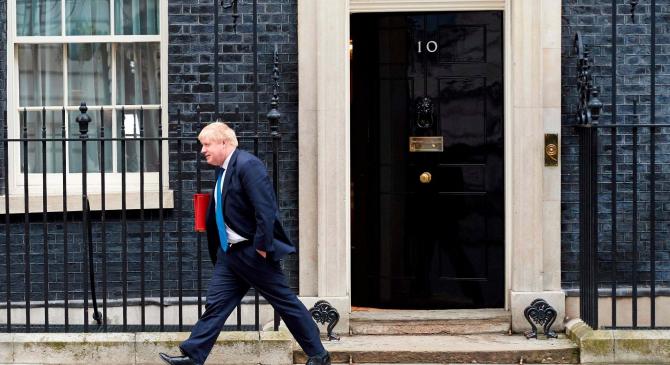 Boris Johnson și prietena lui, primul cuplu necăsătorit carae va locui în Downing Street