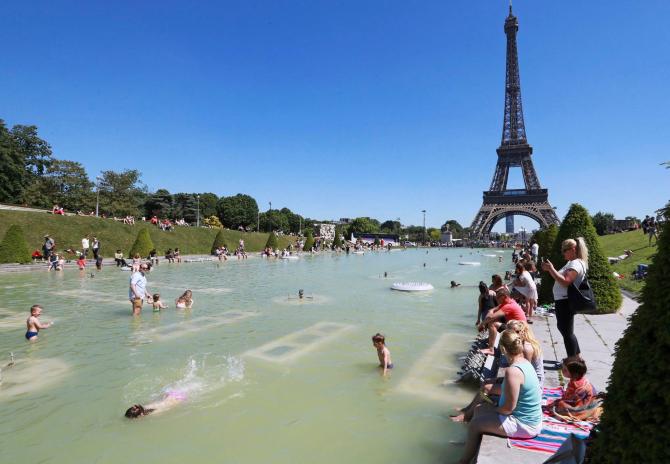 Franța se confruntă cu un nou val de aer fierbinte