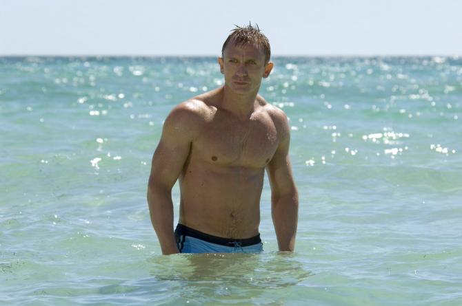 Daniel Craig in rolul lui James Bond