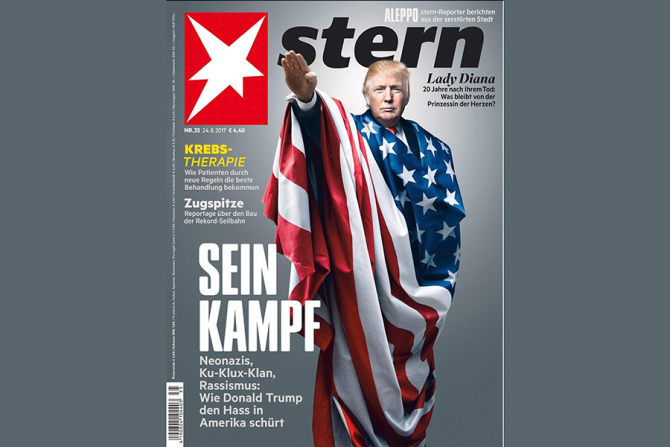 Coperta revistei Stern