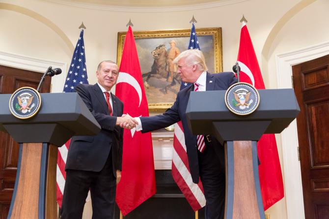Recep Tayyip Erdogan si Donald Trump