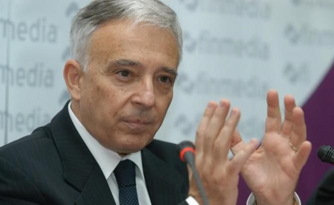 Guvernatorul Mugur Isărescu