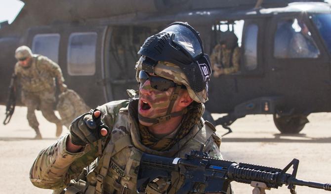 Tehnică de luptă, militari