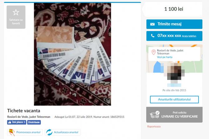 Bișnița cu tichete a ajuns o afacere înfloritoare pentru unii români