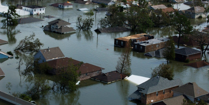 Așa a fost în 2015, după Katrina