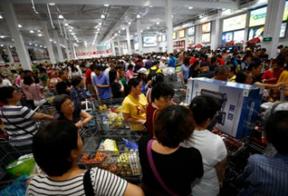 Isteria chinezilor a determinat inchiderea magazinului