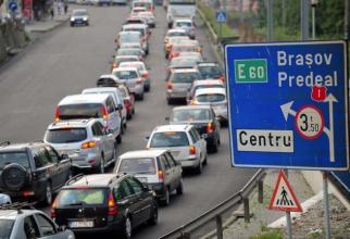 Trafic aglomerat pe DN1, între Ploiești și Brașov