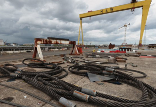 Portul Harland and Wolff din Belfast