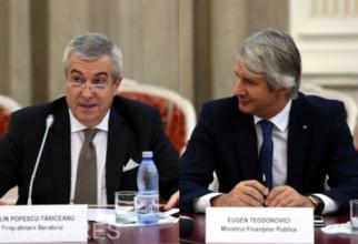 Calin Popescu-Tăriceanu și Eugen Teodorovici