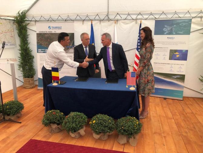 Niculae Bădălău participa la ceremonia de semnare a acordului
