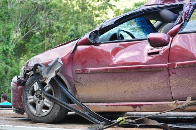 Accident rutier pe A3