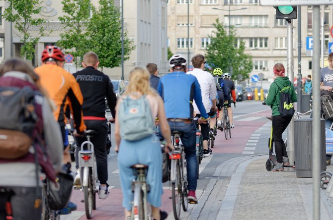 Biciclistii vor fi amendati